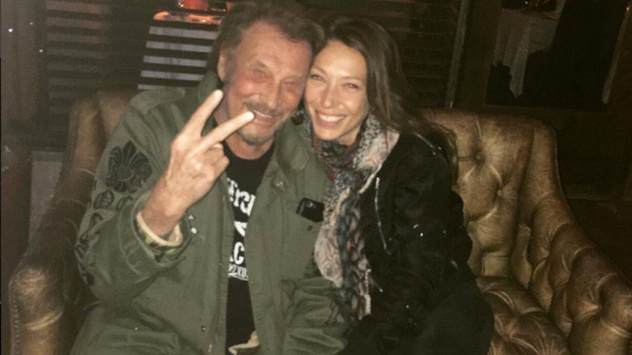 PHOTO Johnny Hallyday: retrouvailles complices avec sa fille Laura Smet à Los Angeles