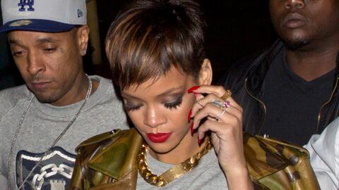 DIAPO Rihanna a de nouveau les cheveux courts