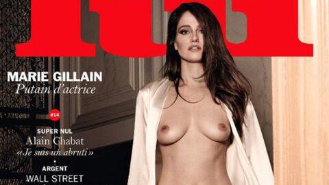 PHOTO Marie Gillain s'affiche topless en couverture de Lui