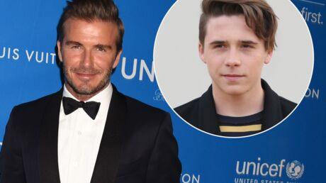 David Beckham se confie sur les rencards amoureux de son fils Brooklyn