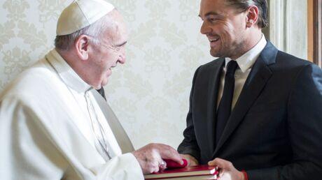 PHOTOS Leonardo DiCaprio a rencontré le Pape François