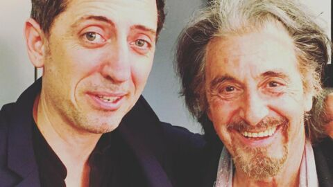 PHOTO Gad Elmaleh a un nouveau fan… Al Pacino!