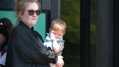 DIAPO Découvrez le visage d'Angelo, le fils d'Adele
