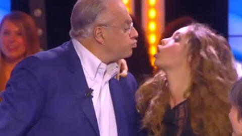 VIDEO Nabilla embrasse Gérard Louvin sur la bouche!