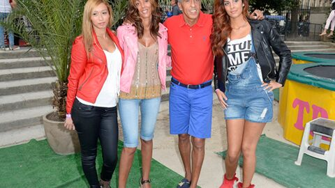 DIAPO Samy Naceri en famille à l'inauguration de la Fête des Tuileries