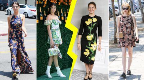 Les do & don'ts de la semaine: le cas de la robe à fleurs