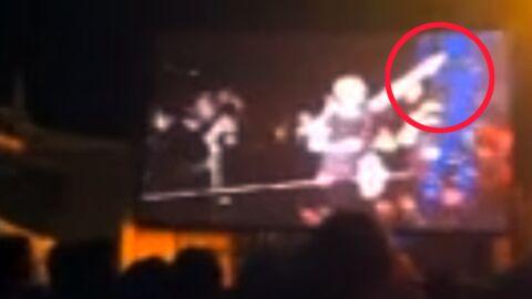 VIDEO Beyoncé se fait taper les fesses par un fan en plein concert