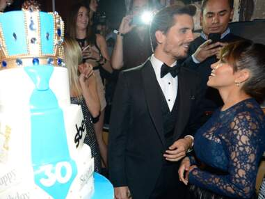 Scott Disick fête ses 30 ans à Las Vegas avec Kourtney Kardashian et Kris Jenner