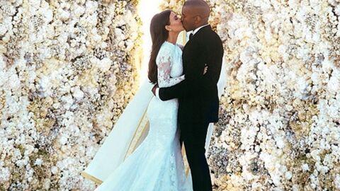 Kim Kardashian et Kanye West: les photos de la cérémonie de mariage!