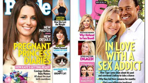 En direct des US: Kim Kardashian n'est pas enceinte!