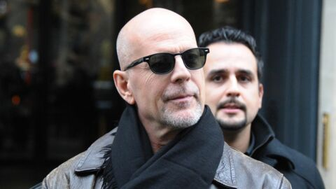 PHOTOS Bruce Willis aperçu en train de s'éclater dans le Marais