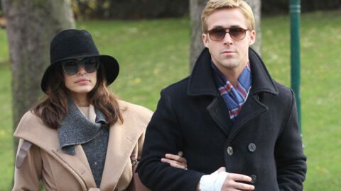 PHOTOS Ryan Gosling et Eva Mendes en amoureux à Paris