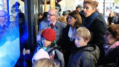 PHOTOS A Paris, Céline Dion offre un Noël anticipé à ses jumeaux