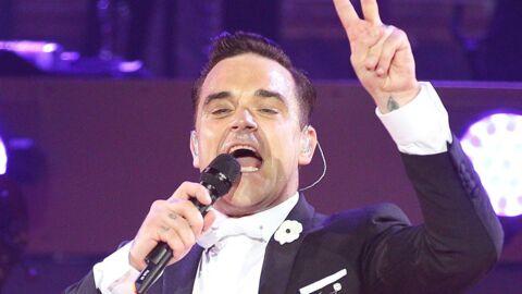 VIDEO Robbie Williams papa d'un petit garçon