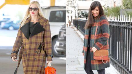 Le shopping de Marieluvpink: offrez vous le bon manteau à carreaux comme Gwen Stefani