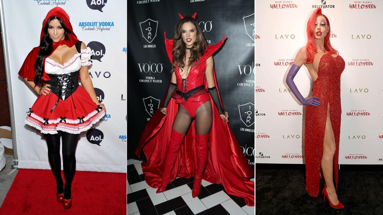 PHOTOS Kim Kardashian, Alessandra Ambrosio, Heidi Klum… Les costumes d'Halloween les plus sexy
