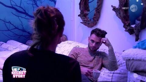 Secret Story 10: Mélanie quitte Bastien (qui voulait quitter le jeu)