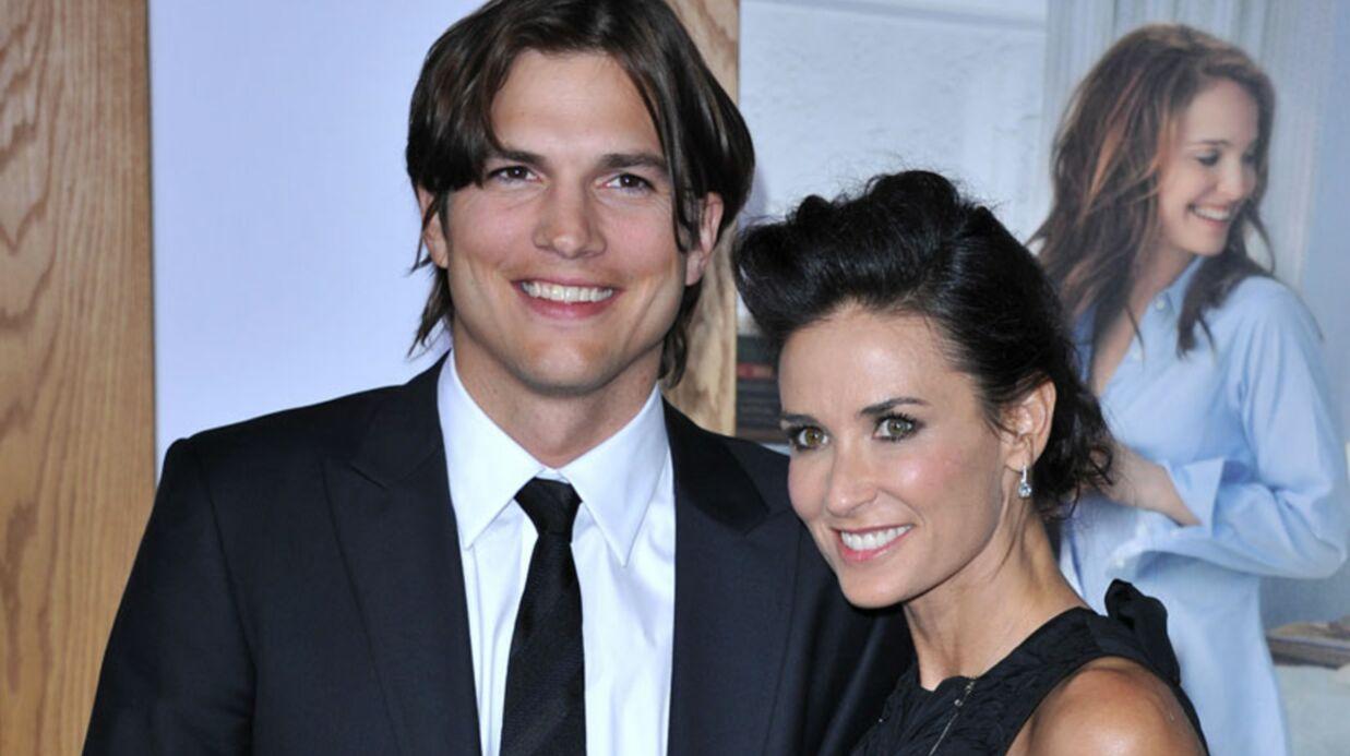 Ashton Kutcher l'a trompée: Demi Moore veut divorcer