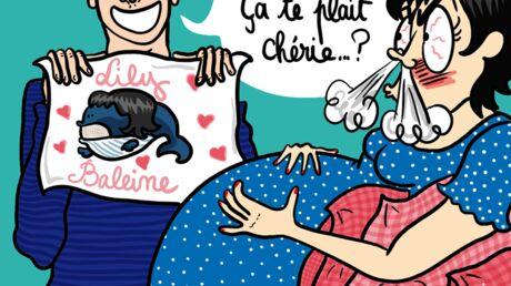 Louison a croqué: Lily Allen enceinte furax contre son mari