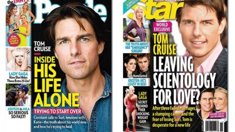 En direct des US: Tom Cruise est seul. Si seul…