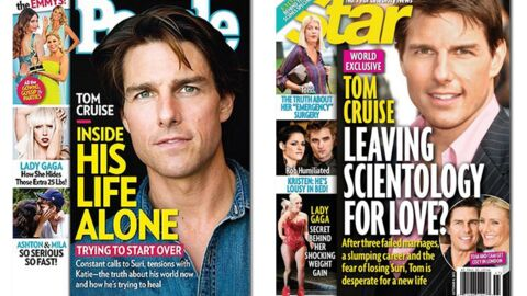 En direct des US : Tom Cruise est seul. Si seul…