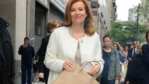 LOOK Valérie Trierweiler très classe dans les rues de New York
