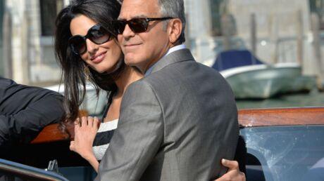 PHOTOS George Clooney et Amal Alamuddin sont mariés