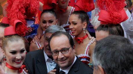 PHOTOS François Hollande à New York, c'est plumes, french cancan et tonnes de beurre!