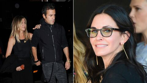 Divorce des Brangelina: Courteney Cox et Justin Theroux défendent Jennifer Aniston