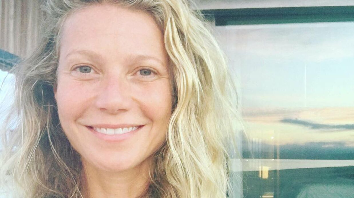 PHOTO Gwyneth Paltrow : sans maquillage à 44 ans, elle est magni­fique