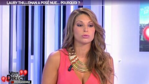 VIDEO Laury Thilleman explique ses photos de nu sur NRJ 12