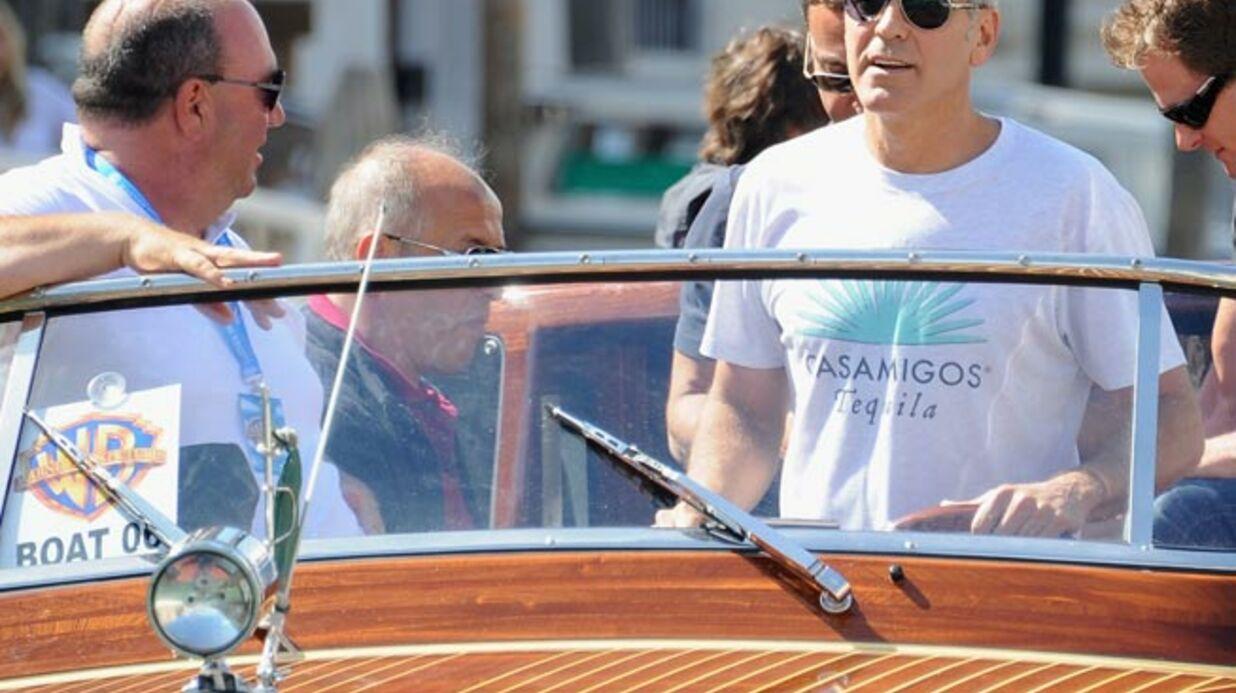 George Clooney risque une amende pour avoir conduit un bateau à Venise