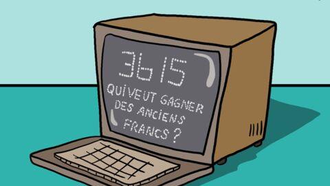 Louison a croqué: Jean-Pierre Foucault préfère son minitel à internet