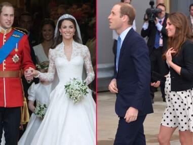 Les deux ans de mariage du prince William et de Kate Middleton en photos