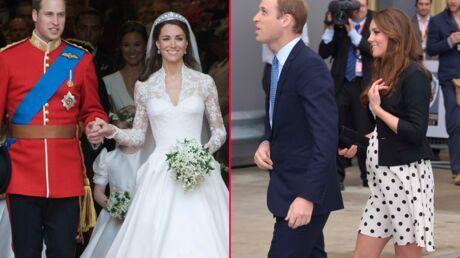 Joyeux anniversaire Kate et William! Deux ans de mariage en photos