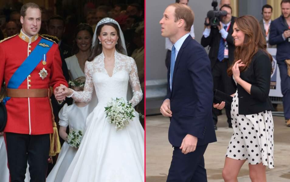 Les Deux Ans De Mariage Du Prince William Et De Kate Middleton En