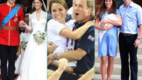 DIAPO Kate et William: retour sur trois années de mariage bien remplies