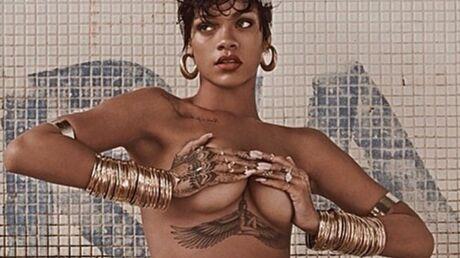 PHOTOS le shooting ultra sensuel de Rihanna pour Vogue Brésil