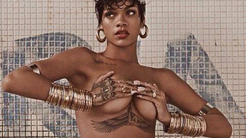 PHOTOS le shooting ultra sensuel de Rihanna pour Vogue Brésil