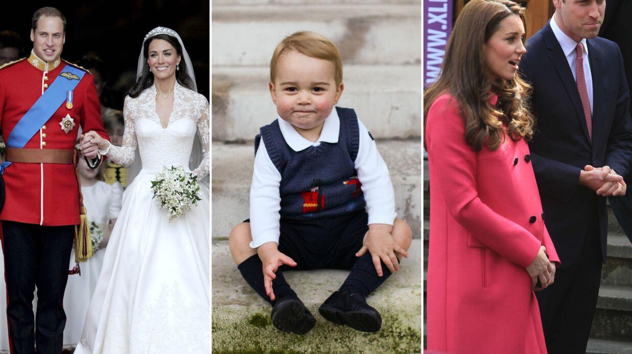 DIAPO Kate et William fêtent leurs 4 ans de mariage: retour en images sur un conte de fée