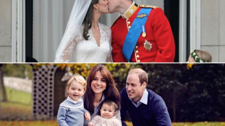 DIAPO Kate Middleton et le prince William: retour en images sur leurs 5 ans de mariage