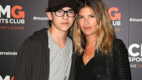 PHOTO Isabelle Funaro pose avec Sean, le fils qu'elle a eu avec Pascal Obispo