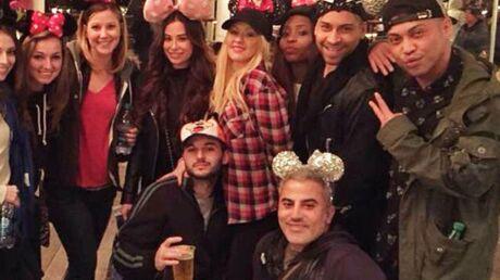 Christina Aguilera insulte violemment Mickey à Disneyland