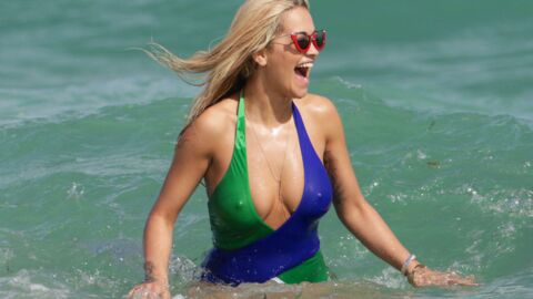 PHOTOS Rita Ora : son maillot de bain ne cache finalement pas grand-chose