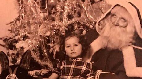 DEVINETTE Qui est cette petite fille assise sur les genoux du père Noël, devenue une célèbre animatrice?