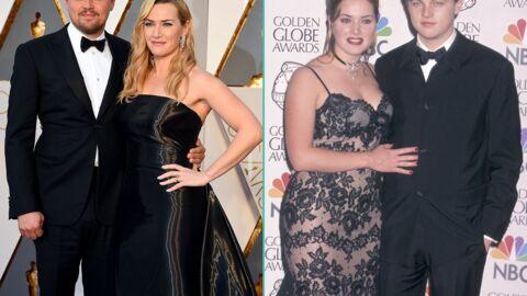Oscars 2016 – Leonardo DiCaprio et Kate Winslet réunis 20 ans après Titanic: la photo souvenir qui pique