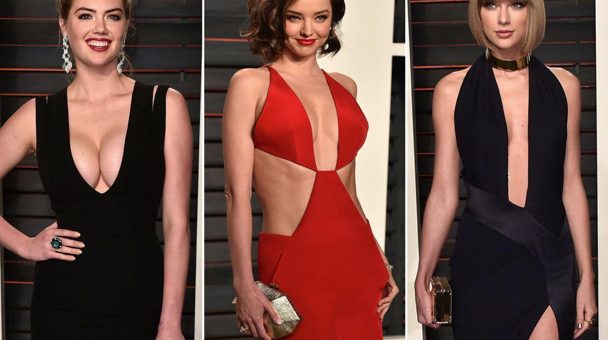 DIAPO Kate Upton, Taylor Swift… Défilé de tenues torrides pour la soirée Oscars de Vanity Fair