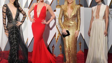 Oscars 2016: Charlize Theron et Olivia Wilde très décolletées, le best of des tenues de la cérémonie