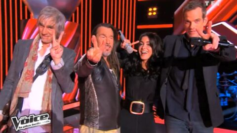 VIDEO Le jury de The Voice chante Envole-moi de Jean-Jacques Goldman