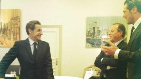 Pour son anniversaire, Nicolas Sarkozy a reçu un …